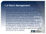 1 6 patch management