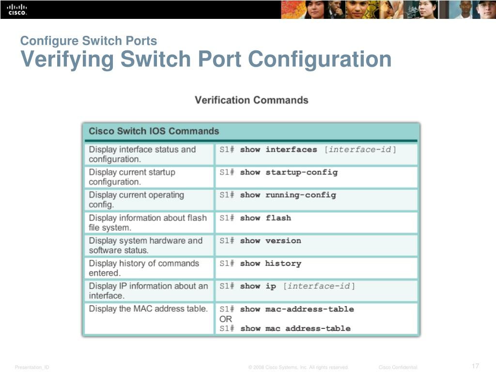 PPT - Lecture9: Basic Switching Concepts and Configuration