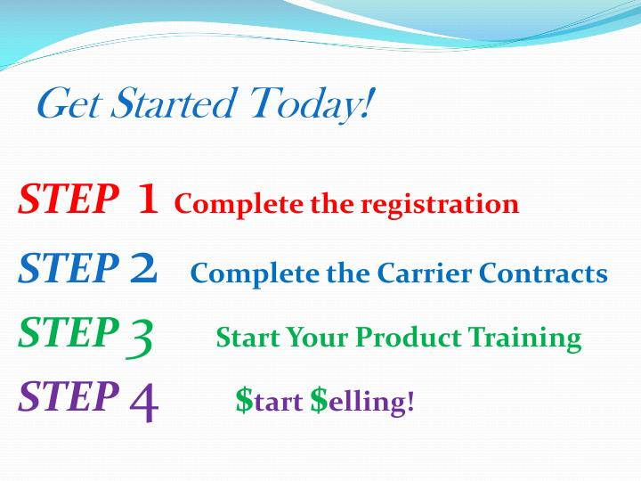 Get Started Today!