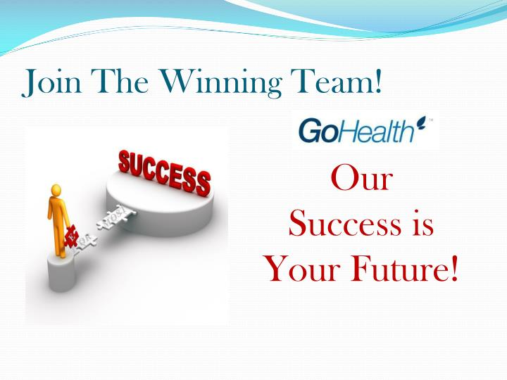 Join The Winning Team!