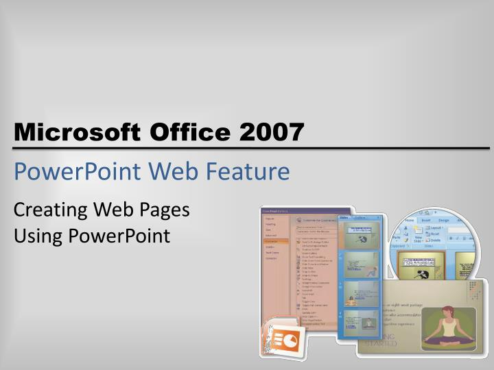 powerpoint web feature n.