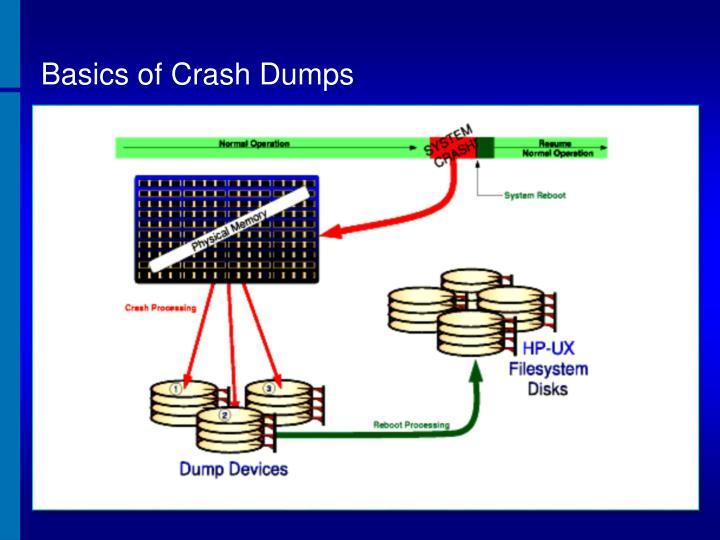 Basics of Crash Dumps