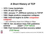 a short history of tcp