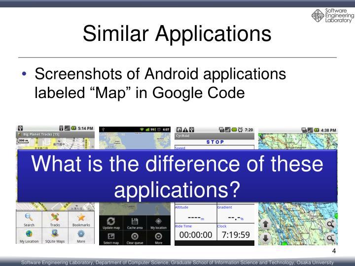 Similar Applications