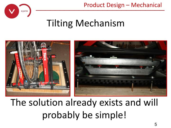 Product Design – Mechanical
