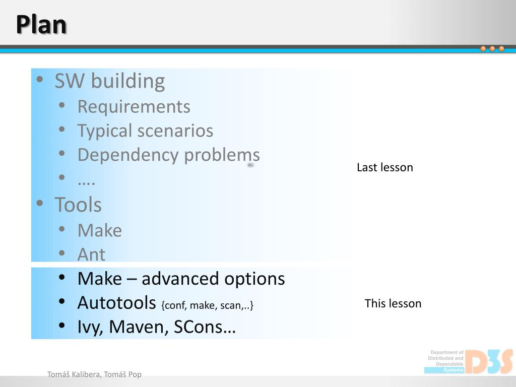 PPT - Software building II PowerPoint Presentation - ID:1584212