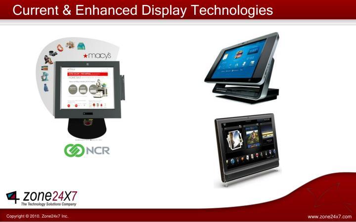 Current & Enhanced Display Technologies