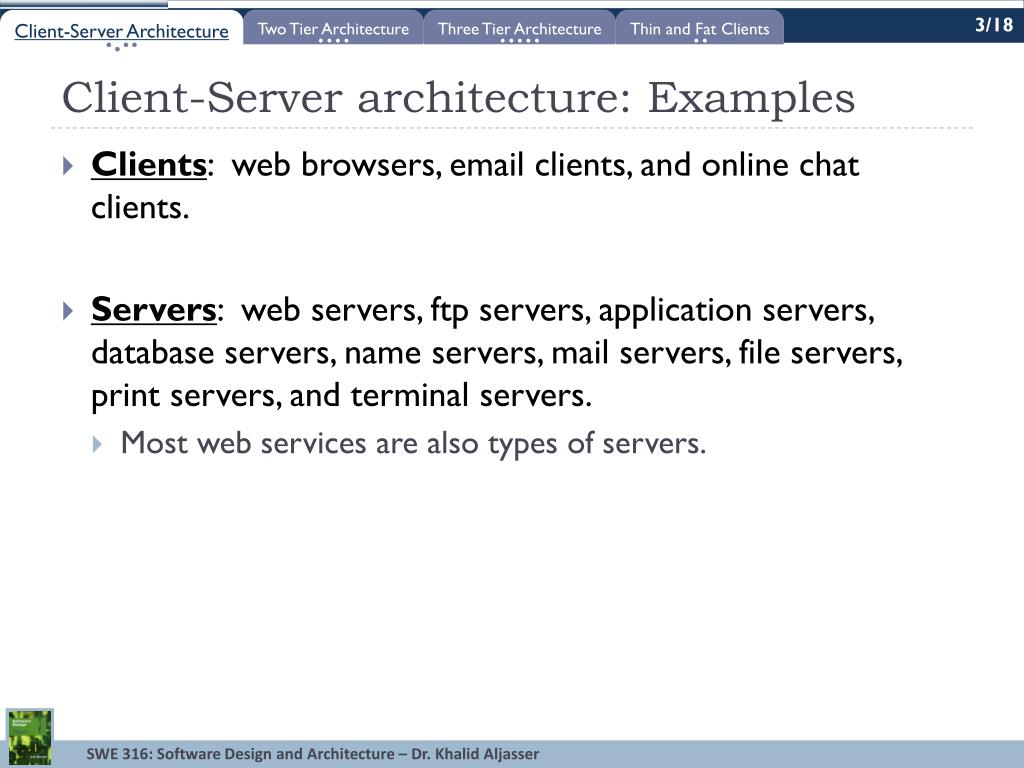 Ppt Lecture 10 Client Server Architecture Two And Three Tier Architectures Powerpoint Presentation Id 1584465