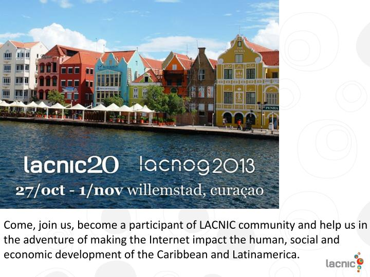 Next LACNIC meeting