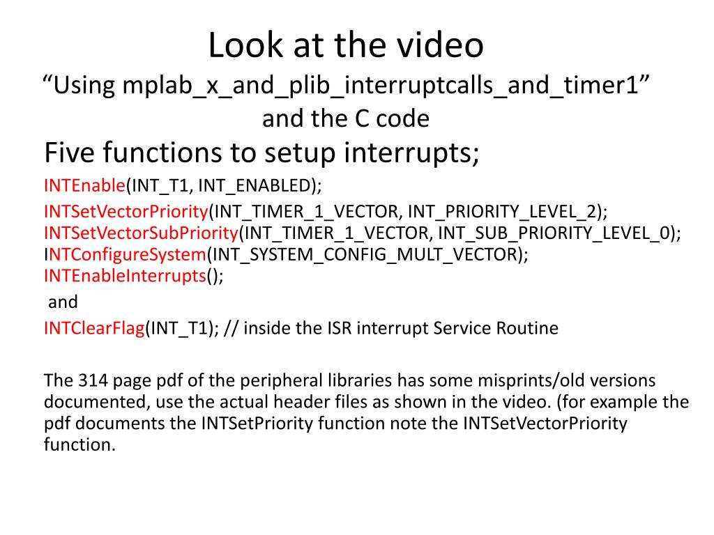 PPT - EEE527 Embedded Systems Lecture 8: Practical