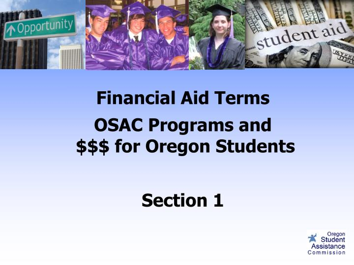 Financial Aid Terms