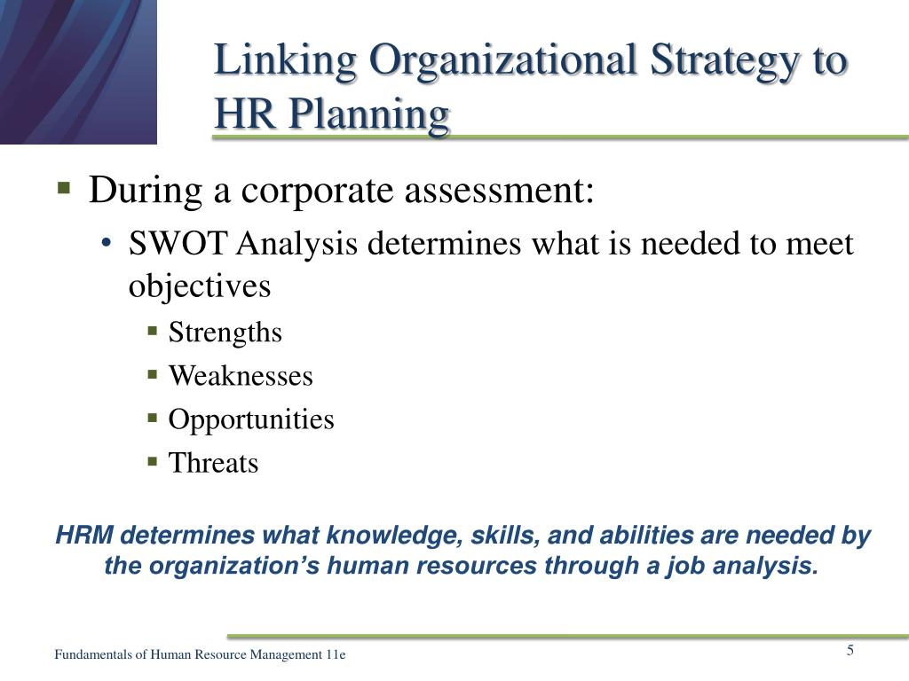PPT - Chapter 5 Human Resource Planning and Job Analysis