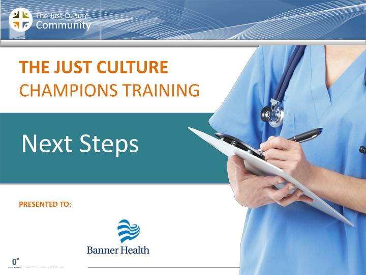 the just culture certification training