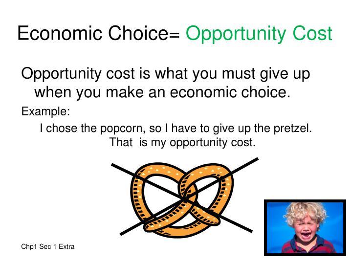 Economic Choice=