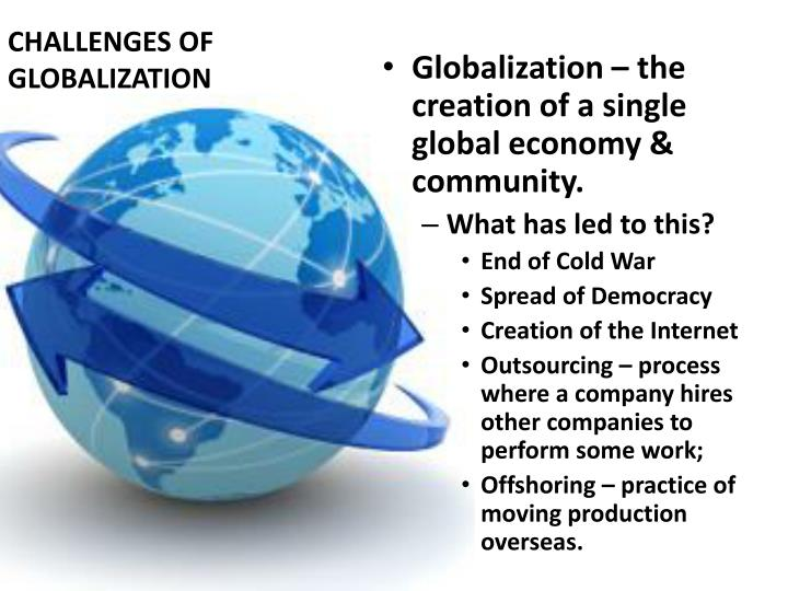 the effects of globalization to the world