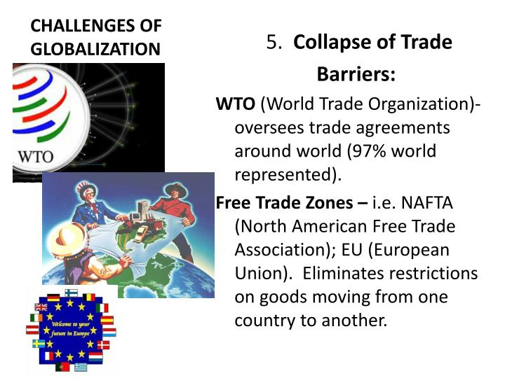 globalization and the wto Globalization is difficult to define globalization scholars regularly debate what is actually meant by the term world trade organization (wto.