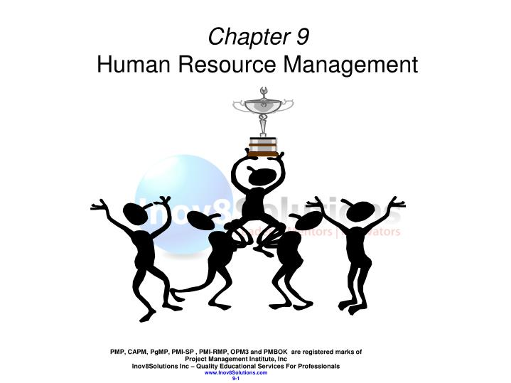 chapter 9 human resource management n.