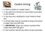 cookie mining