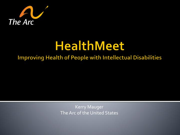 healthmeet improving health of people with intellectual disabilities n.