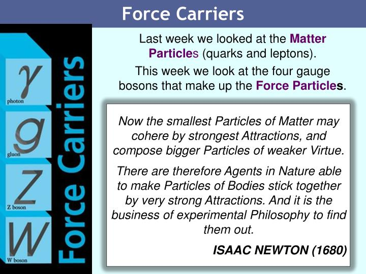Force Carriers