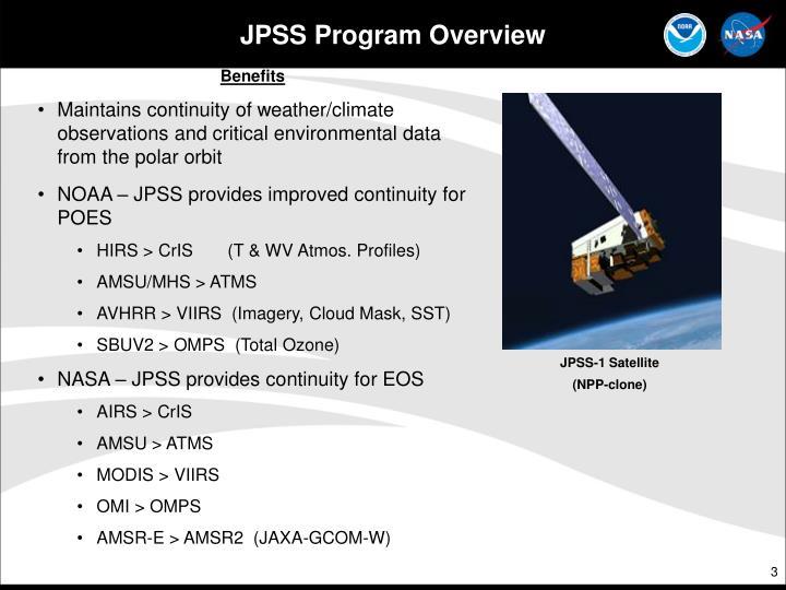 Jpss program overview