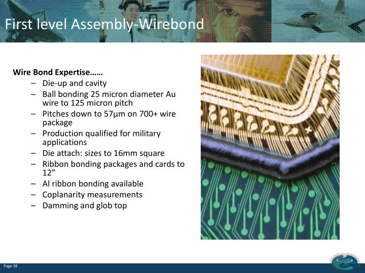 First level Assembly-