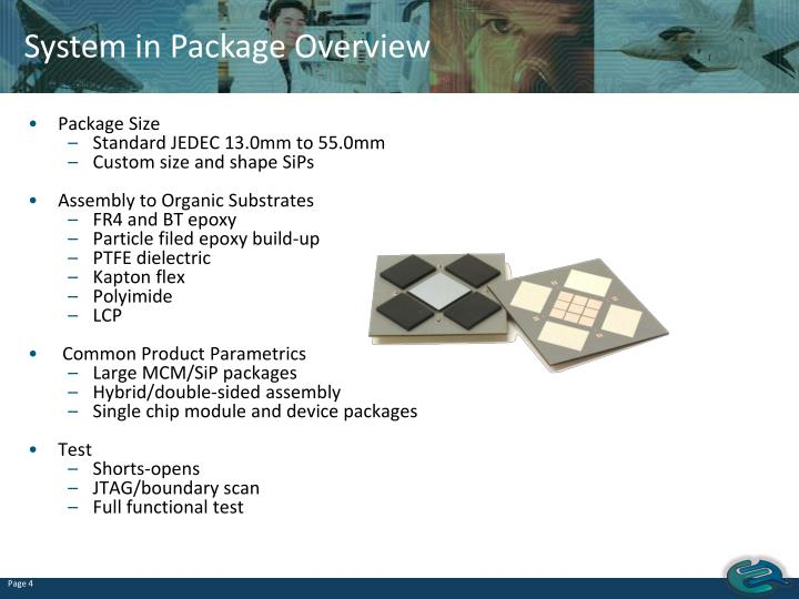 System in Package Overview