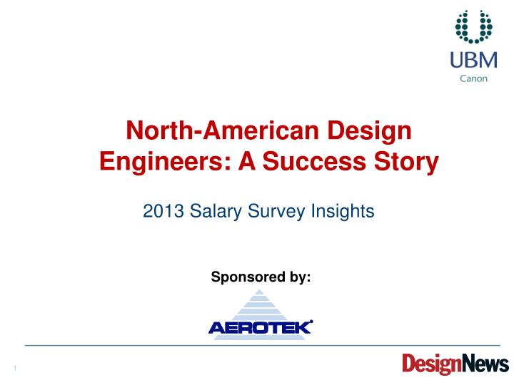 north american design engineers a success story n.