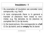 insulators 1