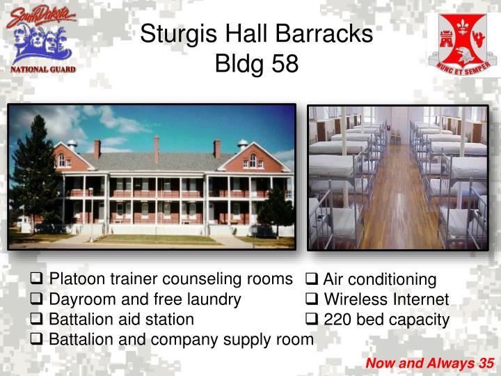 Sturgis Hall Barracks