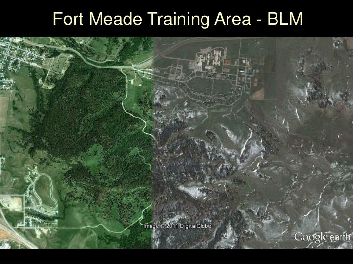 Fort Meade Training Area - BLM
