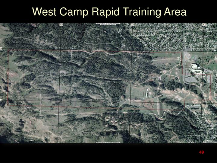 West Camp Rapid Training Area