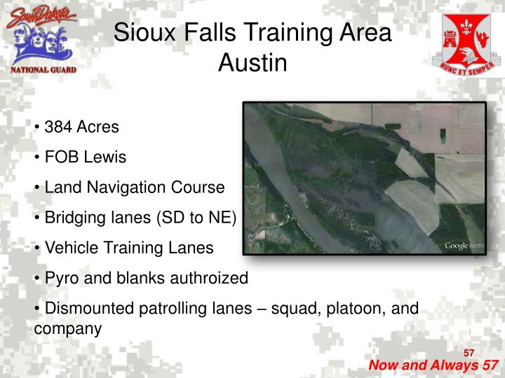 Sioux Falls Training Area