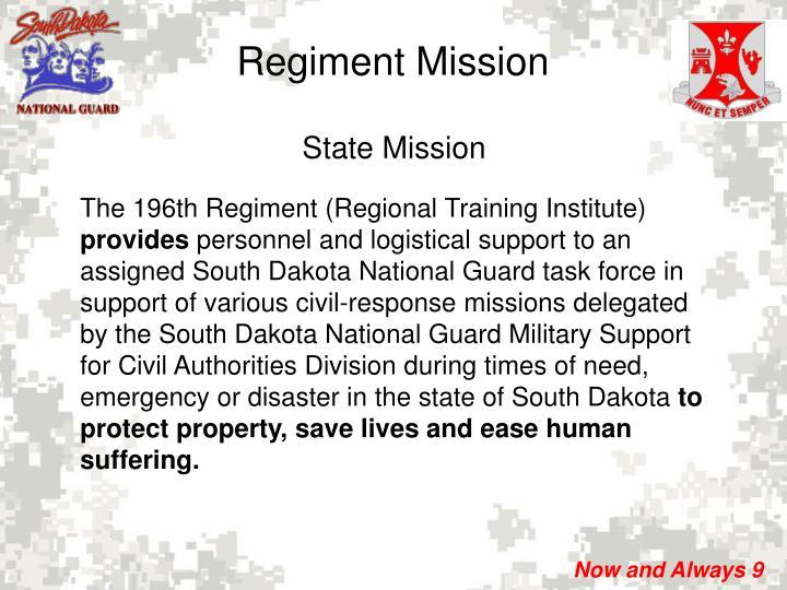 Regiment Mission