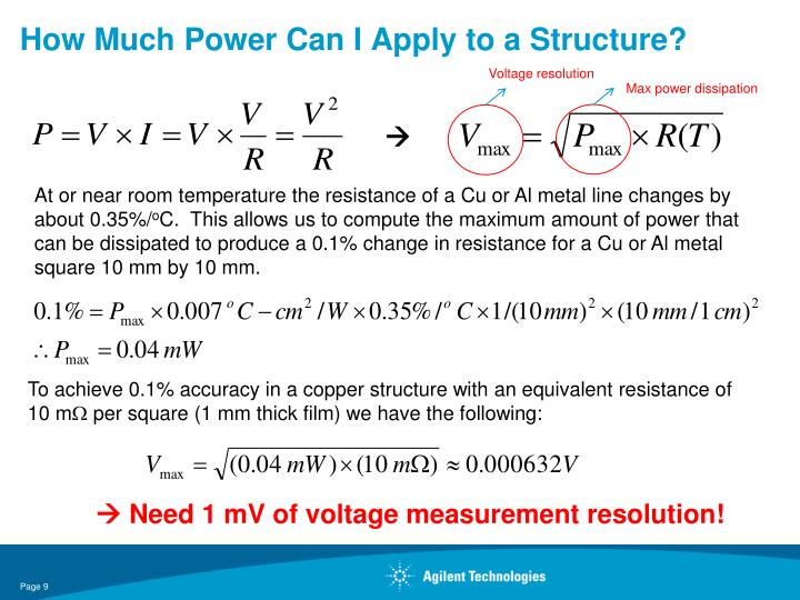 How Much Power Can I Apply to a Structure?