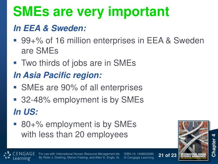 SMEs are very important