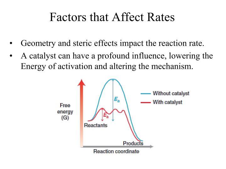 factors affecting reaction rate essay