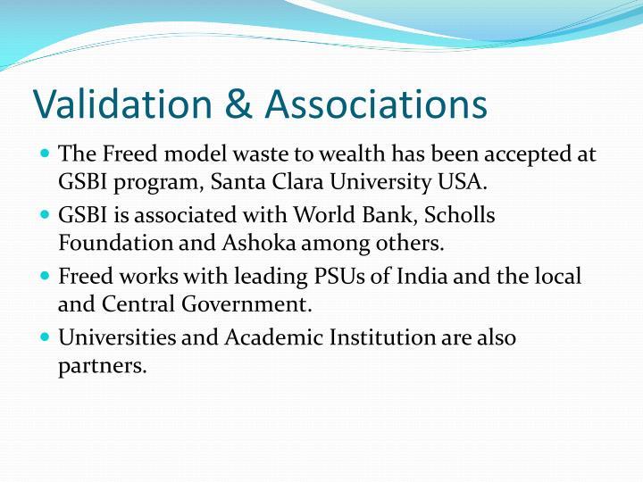 Validation & Associations