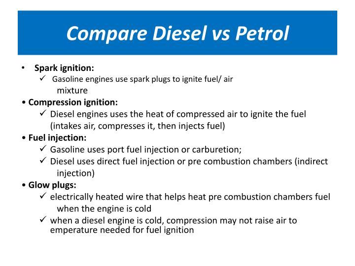 Compare Diesel