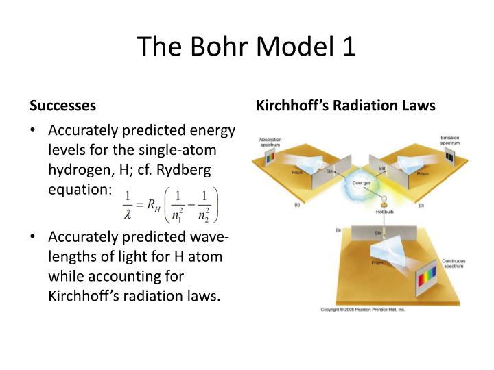 The Bohr Model 1