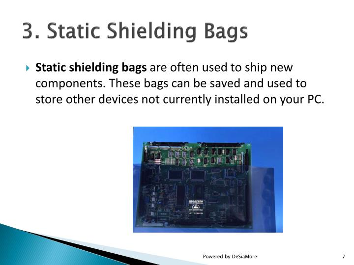 3. Static Shielding Bags