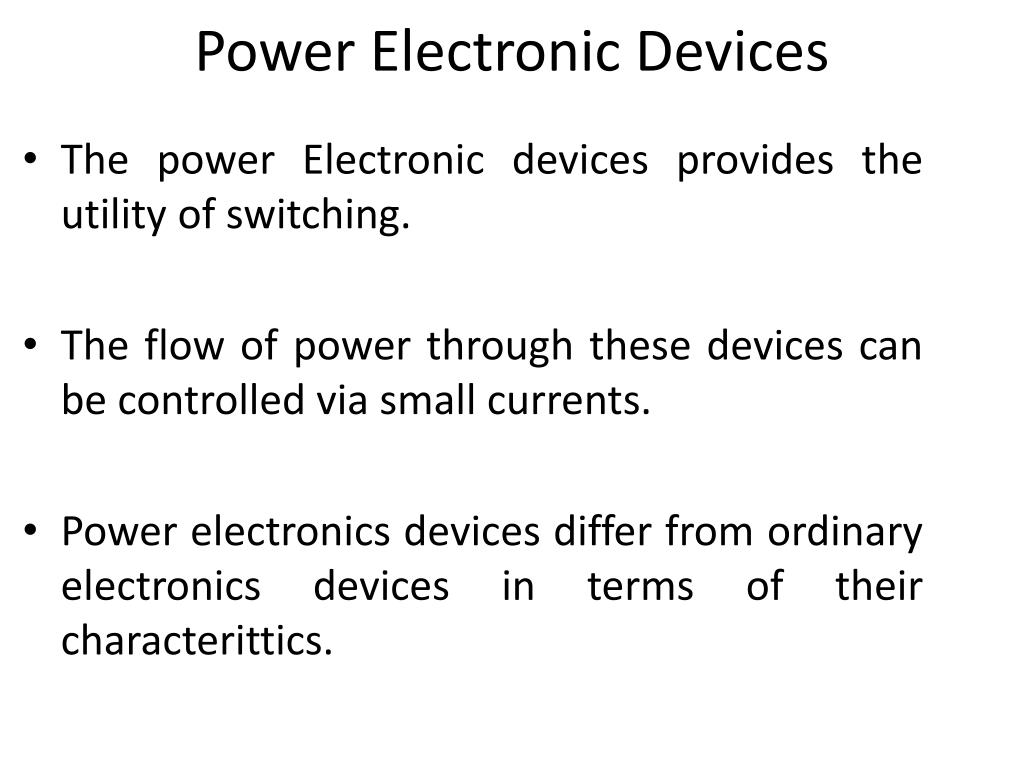 PPT - Instrumentation & Power Electronics PowerPoint
