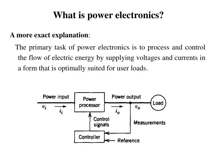 What is power electronics1