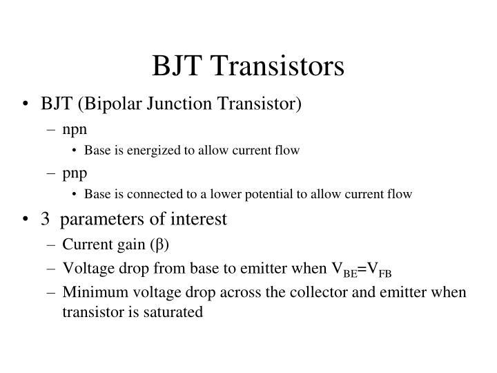 BJT Transistors