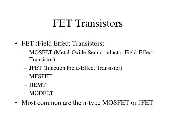 FET Transistors