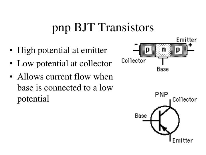 pnp BJT Transistors