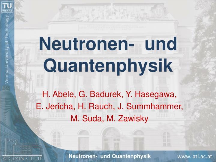 Neutronen