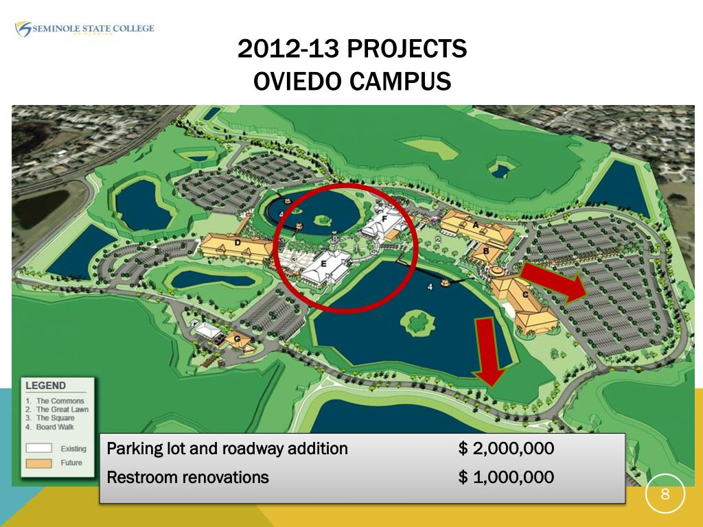 seminole state sanford campus map Ppt Seminole State College Of Florida Powerpoint Presentation