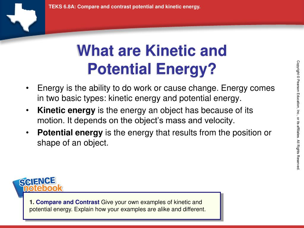ppt what are kinetic and potential energy powerpoint presentation