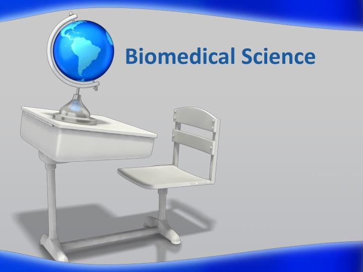 biomedical science n.